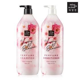 Шампунь Укрепляющий С Экстрактом Цветов Сакуры Mise En Scene Blooming Perfume Cherry Blossom Shampoo 1100ml