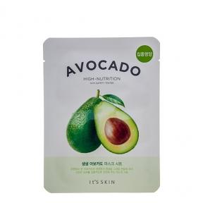 Тканевая маскадля лица с экстрактом авокадо It's Skin The Fresh Avocado Mask Sheet 21ml