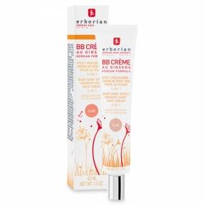 BB-крем с женьшенем светлый для лица Erborian Eau Ginseng BB Cream Clair 5in1 SPF20