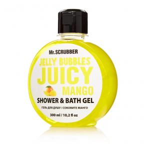 Гель для душа «Juicy Mango» Mr.Scrubber Jelly Bubbles Shower & Bath Gel, 300ml