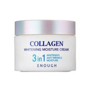 Крем осветляющий с ниацинамидом Enough Collagen Whitening Moisture Cream 3 in 1 (50 ml)