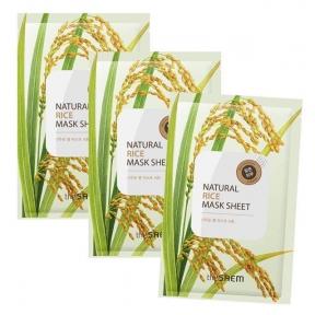 Маска Тканевая С  Экстрактом Риса The Saem Rice Natural Mask Sheet