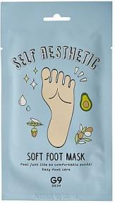 Маска смягчающая для ног G9Skin Self Aesthetic Soft Foot Mask 12ml