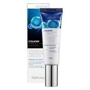 Крем для век антивозрастной с высоким содержанием коллагена FarmStay Collagen Water Full Moist Eye Cream 50ml