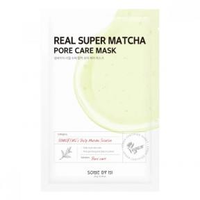 Маска тканевая с чаем матча для лица Some By Mi Real Super Matcha Pore Care Mask 20ml