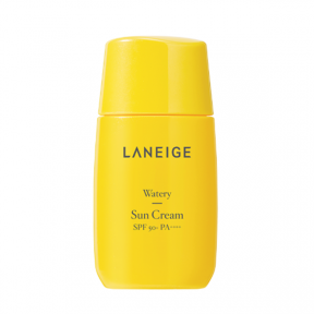 Солнцезащитный крем омолаживающий с лизином Laneige Watery Sun Cream SPF50+ PA++++ 50ml