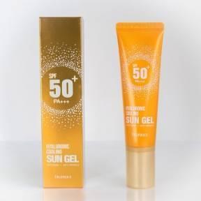 Солнцезащитный Гель С Гиалуроновой Кислотой Deoproce Hyaluronic Cooling Sun Gel SPF 50+/ PA+++