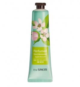 Крем-эссенция для рук парфюмированная с экстрактом цветков яблони The Saem Perfumed Hand Moisturizer Apple Blossom 30ml