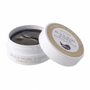 Гидрогелевые Патчи С Коллоидным Золотом И Жемчужной Пудрой Petitfee Black Pearl&Gold Hydrogel Eye Patch 60шт