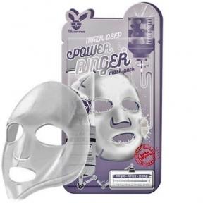 Маска тканевая молочно-цветочная Elizavecca Face Care Milk Deep Power Ring Mask Pack 23ml