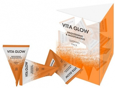 Маска ночная для лица «Витамины» J:ON Vita Glow Brightening & Moisturizing Sleeping Pack