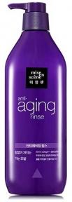 Кондиционер антивозрастной с экстрактом ягод Mise en Scene Aging Care Rinse Full & Thick 680 ml