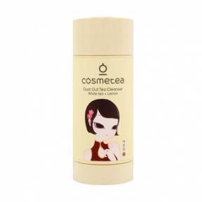 Стик для лица очищающий с экстрактом белого чая Dust Out tea cleanser white tea Cosmetea 65gr
