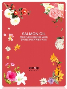 Маска увлажняющая тканевая с лососевым маслом для лица Eyenlip SALMON OIL MOISTURE ESSENCE MASK 25ml