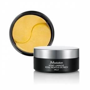 Патчи С Гиалуроновой Кислотой И Медом JM Solution Honey Luminous Royal Propolis Eye Patch Black