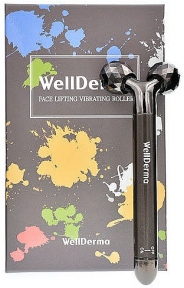 Массажер роликовый вибрирующий Wellderma Face Lifting Vibrating Roller