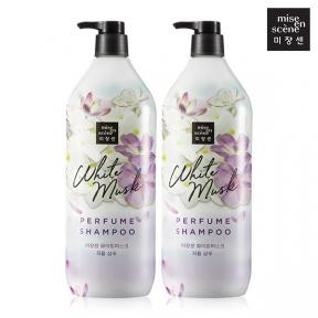 Шампунь укрепляющий парфюмированный с экстрактом белого мускуса White Musk Perfume Shampoo Mise en Scene 1100ml
