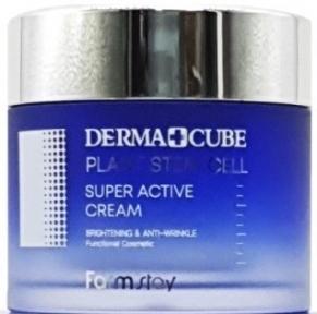 Крем антивозрастной со стволовыми клетками Farmstay Dermacube Plant Stem Cell Super Active Cream 80ml