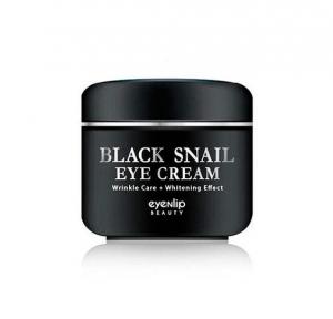 Крем многофункциональный с муцином черной улитки для глаз Eyenlip BLACK SNAIL EYE CREAM 50ml