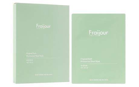Тканевая маска «Растительные экстракты» Evas Fraijour Original Herb Wormwood Sheet Mask 23ml