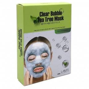 Кислородная Маска Очищающая С Экстрактом Чайного Дерева Labute Clear  Bubble  Tea  Tree  Mask