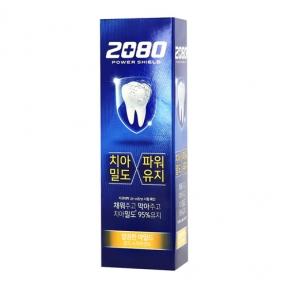 Зубная паста с экстрактом мяты 2080 Power Shield Gold Spearmint 120g