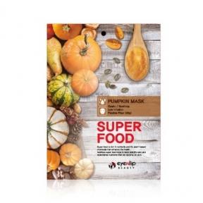 Маска тканевая для лица с экстрактом тыквы Eyenlip Super Food Pumpkin Mask, 23ml