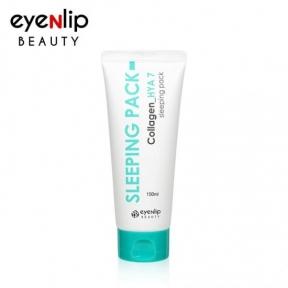 Маска ночная увлажняющая с коллагеном и гиалуроновой кислотой для лица Eyenlip SLEEPING PACK Collagen HYA 7 150ml