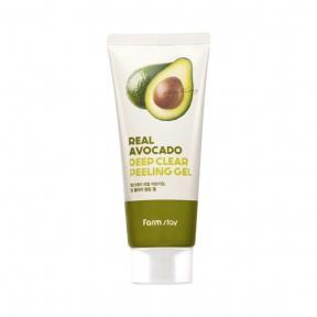 Пилинг-гель увлажняющий с экстрактом авокадо  FarmStay Real Avocado Deep Clear Peeling Gel, 100 ml