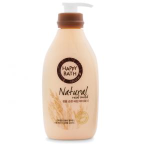 Гель Для Душа С Экстрактом Пшеницы Happy Bath  Natural Real Mild Body Wash