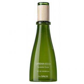 Тонер для лица освежающий с экстрактом новозеландского льна The Saem Urban Eco Harakeke Fresh 180ml