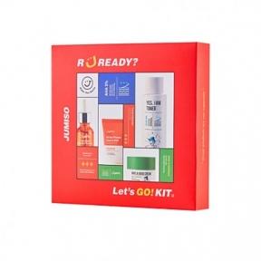 Набор миниатюр  для лица подарочный Jumiso Let's Go! Kit 40ml