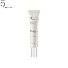 Антивозрастной ампульный крем для век с коллагеном 9Wishes Collagen Ampoule Eye & Face Cream 40ml