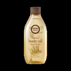 Масло для тела питательное с маслом макадамии Happy Bath Natural Body Oil Real Mild 250 ml