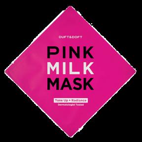 Маска Тканевая Омолаживающая С Молочными Протеинами И Жемчугом Duft & Doft Pink Milk Mask