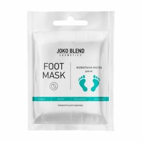 Маска-носочки питательная с коллагеном для ног Joko Blend Foot Mask 25g