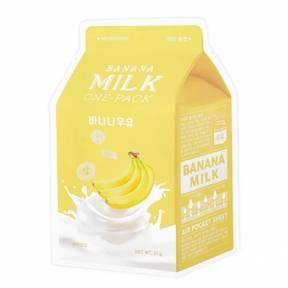 Маска С Молочными Протеинами И Экстрактом Банана  A'pieu Banana Milk One Pack