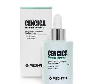 Сыворотка для лица успокаивающая высококонцентрированная для проблемной кожи Cencica Calming Ampoule MediPeel 100ml