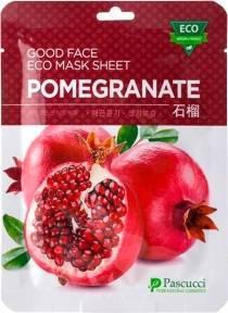 Маска Тонизирующая С Экстрактом Граната Amicell Pascucci Good Face Eco Mask Sheet Pomegranate