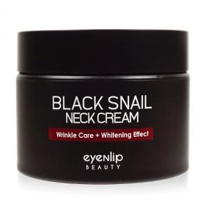 Крем увлажняющий с муцином улитки для шеи Eyenlip BLACK SNAIL NECK CREAM 50ml
