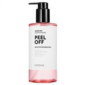 Гидрофильное масло для глубокого очищения кожи с пилинг эффектом Missha Super Off Cleansing Oil (Peel Off) 305ml