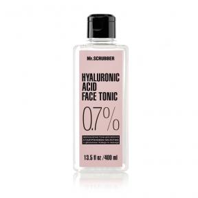 Тоник для лица з гиалуроновой кислотой Mr.Scrubber Hyaluronic Acid Face Tonic 0,7%, 400ml