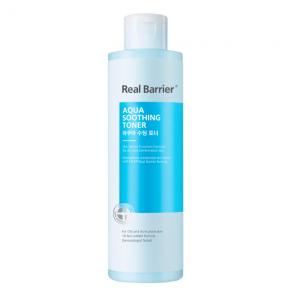 Тонер для лица Увлажняющий Успокаивающий С Экстрактом Центеллы  Real Barrier Aqua Soothing Toner 200 ml