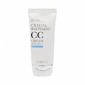 СС крем осветляющий с ниацинамидом 3W Clinic Crystal Whitening CC Cream 50ml