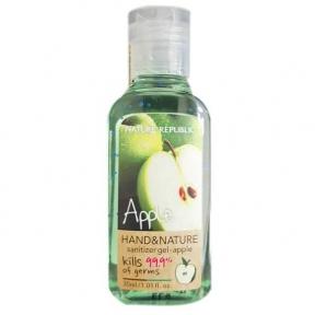 Гель Для Дезинфекции Рук С Ароматом Яблока Nature Republic Hand&Nature Sanitizer Gel Apple