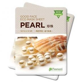 Восстанавливающая Маска С Жемчужной Пудрой Amicell Pascucci Good Face Eco Mask Sheet Pearl