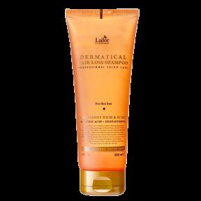 Безсульфатный шампунь против выпадения волос La'dor Dermatical Hair-Loss Shampoo 200ml