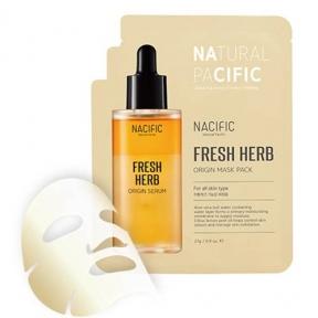 Маска Успокаивающая С Экстрактом Алоэ И Трав Nacific  Fresh Herb Origins Mask Pack 27ml