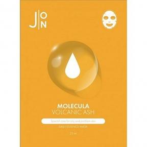 Маска тканевая с вулканическим пеплом для лица J:ON Volcanic Daily Mask Sheet 10х23ml