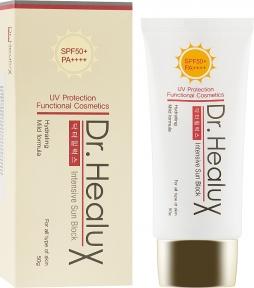 Солнцезащитный крем для лица Dr. Healux Intensive Sun Block SPF50+/PA++++ 50ml
